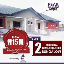 2 bedroom Semi Detached Bungalow for sale Awoyaya Awoyaya Ajah Lagos