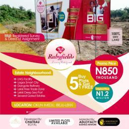 Residential Land Land for sale Ibeju-Lekki Lagos Nigeria  Free Trade Zone Ibeju-Lekki Lagos