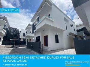 3 bedroom Semi Detached Duplex House for sale Ajah Lagos