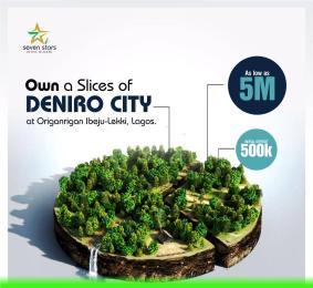 Residential Land for sale Deniro City, Origanrigan, Eleko Ibeju-Lekki Lagos