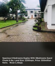 6 bedroom Detached Duplex House for sale Wuse2-Abuja.  Wuse 2 Abuja