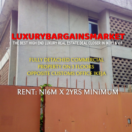 10 bedroom Blocks of Flats House for rent Toyin street Ikeja Lagos