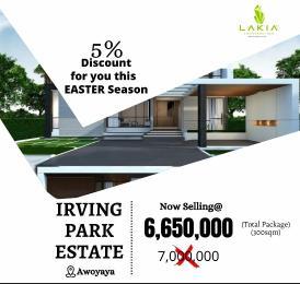 Residential Land for sale Irving Park Awoyaya Ajah Lagos