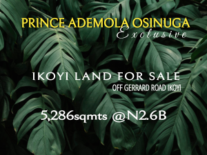 Mixed   Use Land for sale Central Ikoyi Old Ikoyi Ikoyi Lagos