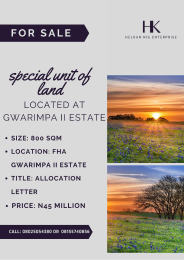 Residential Land Land for sale 391 crescent, gwarinpa II Gwarinpa Abuja