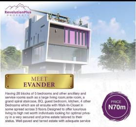 5 bedroom Detached Duplex for sale Evander With Bq Abraham adesanya estate Ajah Lagos