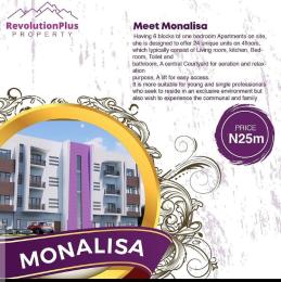 1 bedroom mini flat  Blocks of Flats House for sale MONALISA Ibedroom luxury flat Abraham adesanya estate Ajah Lagos