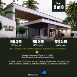 Residential Land Land for sale WestBury Homes Estate inside Beechwood Estate Bogije Eputu Ibeju-Lekki Lagos