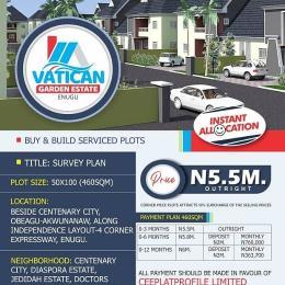 Residential Land Land for sale Centenary City Enugu Enugu