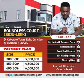 Residential Land for sale   Eleko Ibeju-Lekki Lagos