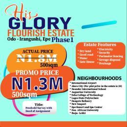 Mixed   Use Land Land for sale Yabatech Polytechnic Odo Irangunshi Epe Road Epe Lagos