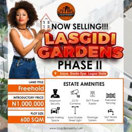 1 bedroom Residential Land for sale Epe Resort And Spa, Otedola Housing Estate Epe Road Epe Lagos