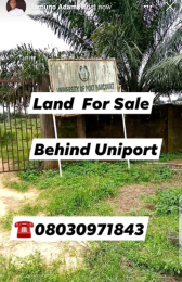Mixed   Use Land Land for sale Choba Port Harcourt Rivers