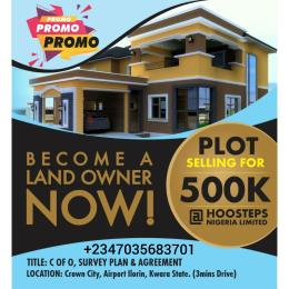 Residential Land Land for sale Airport Road Crown City Budo awe Ilorin Kwara