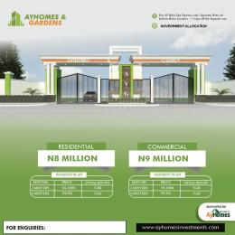 Commercial Land Land for sale Ayhomes and Garden Estate Igando Ikotun/Igando Lagos