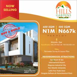 Mixed   Use Land Land for sale Hills Gardens majoda Epe Epe Road Epe Lagos