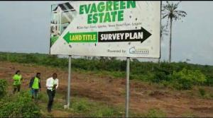 Land for sale Odo Egiri, Epe Ijebu Ode Expressroad Epe Lagos