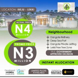 Residential Land Land for sale Ogogoro Ibeju-Lekki Lagos