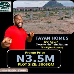 Residential Land for sale Tayan Homes Idu Near Train Station Abuja Idu Abuja