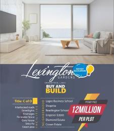 Serviced Residential Land Land for sale Lexington Garden Is Located Inside Ajayi Apata Estate Monastery road Sangotedo Lagos