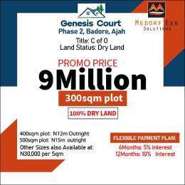 Serviced Residential Land Land for sale Located in a Gated Estatet At Badore Badore Ajah Lagos