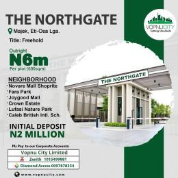 Residential Land for sale Crown Estate, Fara Park Sangotedo Ajah Lagos