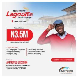 Mixed   Use Land Land for sale Lepia Town Ibeju-Lekki Lagos
