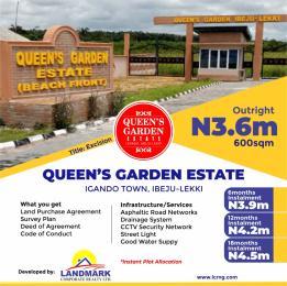 Serviced Residential Land Land for sale Opposite Ekeko Beach Eleko Ibeju-Lekki Lagos