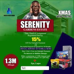 Serviced Residential Land Land for sale Eleranigbe Ibeju-Lekki Lagos