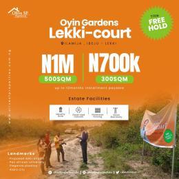 Serviced Residential Land Land for sale Ilamija Close to PAN Africa University Ibeju-Lekki Lagos