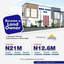 Serviced Residential Land for sale Okun Ajah Ajah Lagos