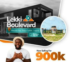 Land for sale Lekki Boulevard Estate, 7mins From Lacampagne Tropicana Resort Akodo Ise Ibeju-Lekki Lagos