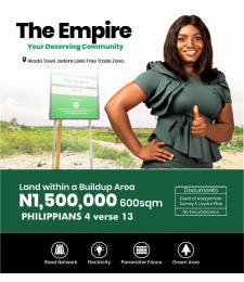 Serviced Residential Land Land for sale Before Lekki Free Trade Zone & After Akodo General Hospital Akodo Ise Ibeju-Lekki Lagos