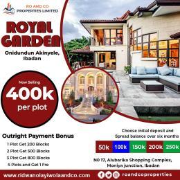 Residential Land Land for sale ONIDUNDUN AKINYELE IBADAN  Akinyele Oyo