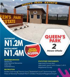 Residential Land Land for sale Mowe Ofada Arepo Arepo Ogun