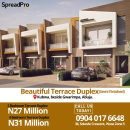 2 bedroom Terraced Duplex House for rent Karsana, Kubwa beside Gwarimpa, Abuja Karsana Abuja