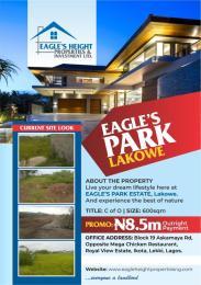 Residential Land Land for sale Lakowe Lekki Phase 2 Lekki Lagos