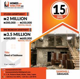 1 bedroom Mini flat for sale Sawmill Ifako-gbagada Gbagada Lagos