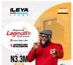 Mixed   Use Land for sale Hopewell Lagoon Front Estate. Between Dangote Refinery And La Campaign. Ogogoro Ibeju-Lekki Lagos