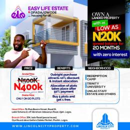 Mixed   Use Land for sale Easy Life Estate Ofada Obafemi Owode Ogun