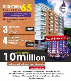 3 bedroom Blocks of Flats House for sale Eighteen65 Residences, Victoria Island Victoria Island Lagos