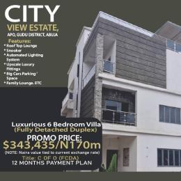 6 bedroom Detached Duplex House for sale Citi View Estate, Gudu. Apo Abuja