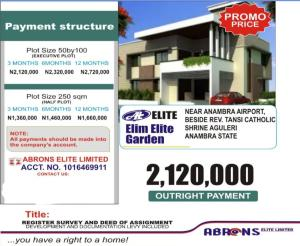 Residential Land for sale Alguleri Beside Rev Transi Catholic Shrine Anambra Anambra