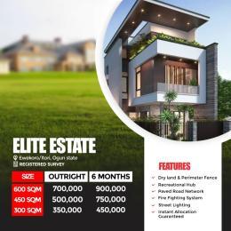 Residential Land Land for sale Elite Estate, Ewekoro/itori Abule Ado Ewekoro Ogun