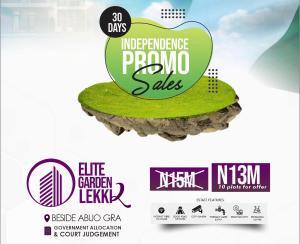 Residential Land Land for sale Beside Abijo Gra Abijo Ajah Lagos