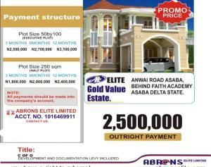Residential Land for sale Anwai Road Asaba Asaba Delta