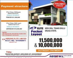 Residential Land Land for sale  NEW GRA TRANS EKULU ENUGU. Enugu Enugu