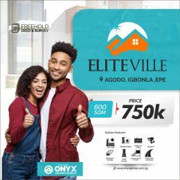 Residential Land for sale Agodo Epe Lagos