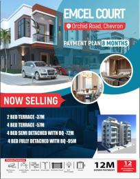 2 bedroom Terraced Duplex for sale Orchid Lekki Lagos