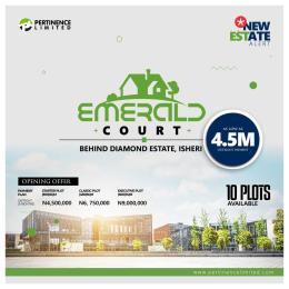 Residential Land Land for sale Behind Diamond Estate Isheri Egbe/Idimu Lagos